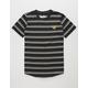 BROOKLYN CLOTH Tiger Stripe Black Boys T-Shirt