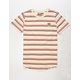 BROOKLYN CLOTH Tiger Stripe Cream Boys T-Shirt
