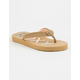 ROXY Vista II Tan Girls Sandals