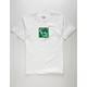 HUF Foliage Box White Mens T-Shirt