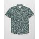QUIKSILVER Linen Print Mens Shirt