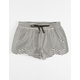 BILLABONG Mad For You Black & White Girls Shorts