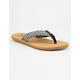 BILLABONG Baja Black & White Womens Sandals