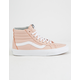VANS Sk8-Hi Reissue Leather Oxford & Evening Sand Womens Shoes