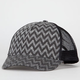 Chevron Stripe Womens Trucker Hat
