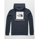 THE NORTH FACE Red Box Navy Mens Hoodie