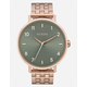 NIXON Maintained Collection Arrow Rose Gold & Sage Watch