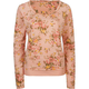 FULL TILT Elbow Tab Sleeve Floral Womens Sweatshirt