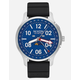 NIXON Ascender Sport Silver & Blue Watch