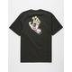 SANTA CRUZ Pastel Screaming Hand Black Mens T-Shirt
