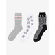 CONVERSE x MILEY 3 Pack Womens Socks