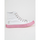 CONVERSE x MILEY Chuck Taylor All Star White High Top Shoes
