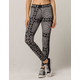 CONVERSE x MILEY Black Bandana Womens Leggings