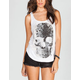 FULL TILT Pretty Skull Bar Back Womens Tank