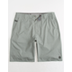 RIP CURL Mirage Phase Boardwalk Charcoal Mens Hybrid Shorts