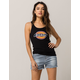DICKIES Stripe Womens Denim Shorts