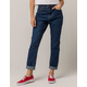 DICKIES Roll Cuff High Rise Jeans