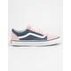 VANS Old Skool Chalk Pink & Vintage Indigo Womens Shoes