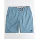 RIP CURL Gateway Boardwalk Blue Mens Hybrid Shorts