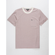 VOLCOM Preston Mens Red Pocket Tee
