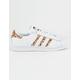 ADIDAS Superstar White & Cheetah Womens Shoes