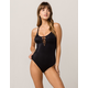 RVCA Solid One Piece Swimsuit