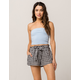 BREEZE EVER Gingham Womens Shorts