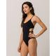 BILLABONG Sol Searcher Black One Piece Swimsuit