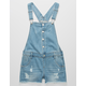 TRACTR Ripped Denim Girls Shortalls