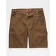 DICKIES Flex Regular Fit Tough Max Stonewash Timber Mens Carpenter Shorts