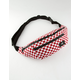 VANS Ward Crossbody Red & White Fanny Pack