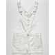 TRACTR Ripped Denim White Girls Shortalls
