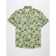 RESOLUTION CLOTHING Camo Floral Mens Shirt
