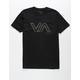 RVCA Stencil VA Mens Black T-Shirt