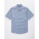COASTAL Palms Chambray Mens Shirt