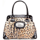 ROCK REBEL Leopard Satchel