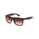 RAY-BAN Justin Flash Gradient Brown Sunglasses