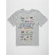 FOX Edify Heather Grey Boys T-Shirt