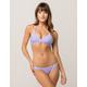 HURLEY Quick Dry Surf Lavender Hipster Bikini Bottoms