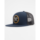 BRIXTON Wheeler Mesh Navy Mens Trucker Hat