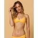 FULL TILT Bralette Yellow Bikini Top
