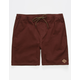 HIPPYTREE Crag Rust Mens Shorts