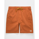 LIRA Forever Rust Mens Volley Shorts