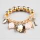 FULL TILT Bead/Chain Charm Bracelet