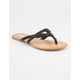 SODA Marlin Black Womens Sandals
