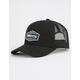 BILLABONG Walled Black Mens Trucker Hat