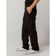 DICKIES FLEX Slim Fit Straight Leg Black Mens Cargo Pants