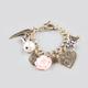 FULL TILT Epoxy Rose Charm Bracelet