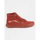 VANS Mono Metallic Sk8-Hi Reissue Womens Shoes