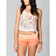 FULL TILT Live Free Womens Crop Tank